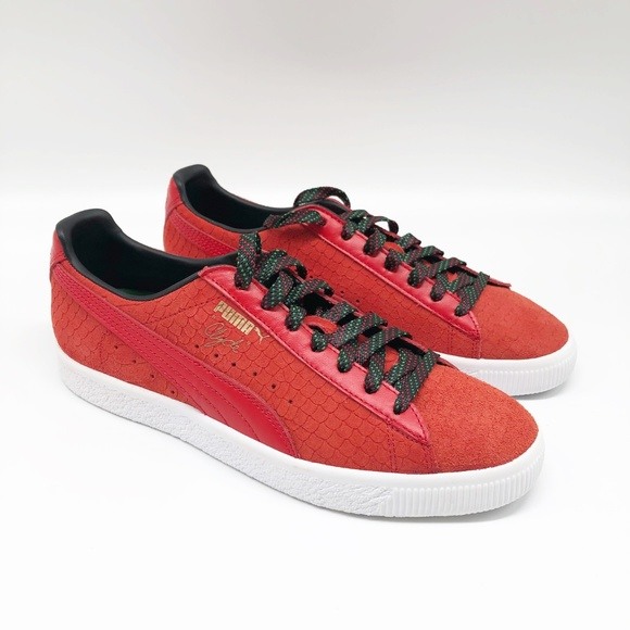 Puma Shoes | Clyde Red Gcc Classic